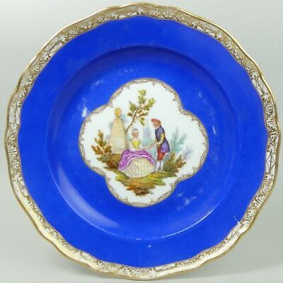 Antique Meissen Hand Painted Porcelain Cabinet Plate C.1890 • 9.99£