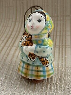 Small Lovely Russian Christmas / New Year Bell / Ornament • 29£