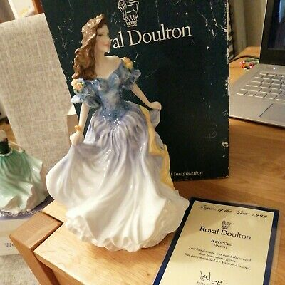 Royal Doulton Rebecca Figure Of The Year 1998 • 12£