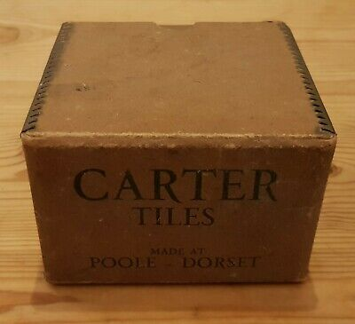 Rare WW2 Carter Tiles Box And Poole Utility Pottery Price List  • 31£