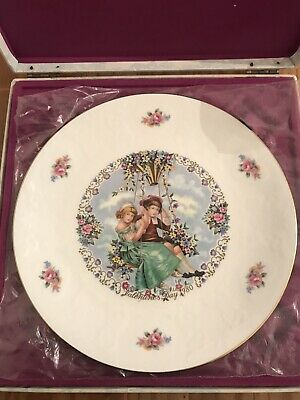 Royal Doulton Valentine Collectable Plate With Certificate • 9£