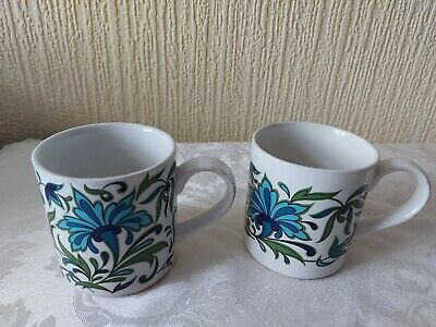 Midwinter Spanish Garden MUGS  X 2  • 24.99£