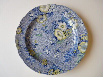 Spode - Blue Chintz Plate - 26.5cm - Used  • 12£