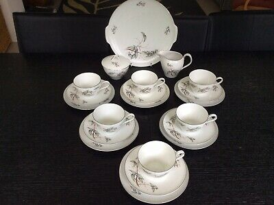 Vintage Thomas Rosenthal Ribbed 21piece Tea Set • 35£