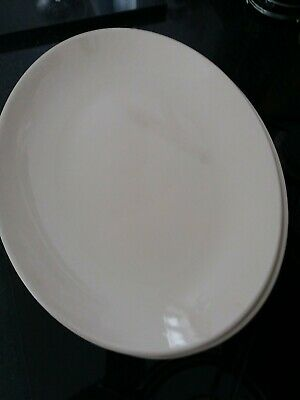 Johnson Brothers 12 Inch Oval Steak Plates X 6 • 40£