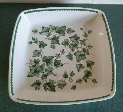 Vintage Bhs Oven To Tableware Square Serving Dish - Vgc • 22.99£