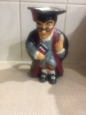 Vintage Roy Kirkham Headmaster Toby Jug Made In England Immaculate Condition • 35.99£
