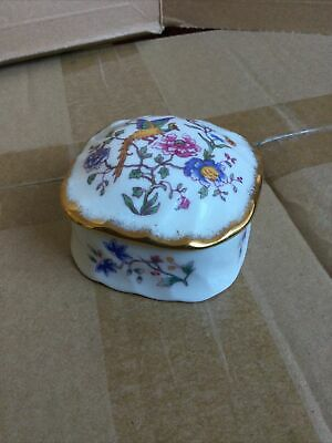 Hammersley Trinket Box Bone China • 4.50£