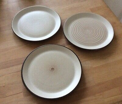 """Purbeck Pottery Brown 7"""" Teaplates • 7.50£"""