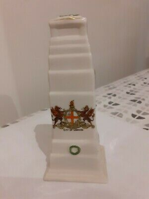 Arcadian Crested China Cenotaph City Of London • 5£