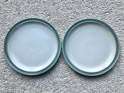 Denby Medium Plates 220mm X 2 In Excellent Condition • 9.99£