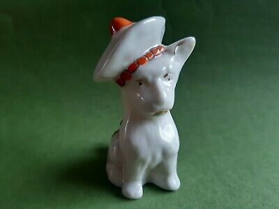 Model Of Of A Scottie Dog (unmarked) - Weston Super Mare - Crested China  • 12.99£