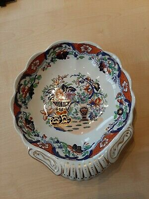 Spode Dish And 3 Plates. New Stone Pattern 3875 • 50£