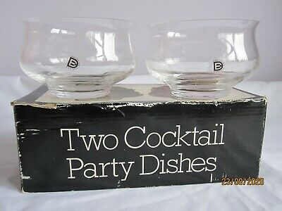 DARTINGTON Vintage Frank Thrower Design 2 Cocktail Party Dishes Boxed • 3.99£