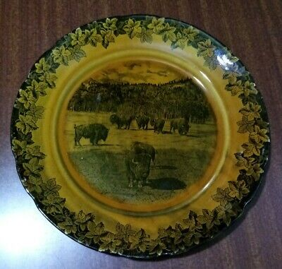 Frank Beardmore & Co Fenton The Buffaloes Plate  • 4.99£