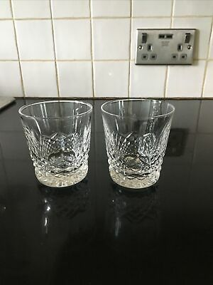 2 Waterford Kenmare Crystal Whisky Glasses • 15£