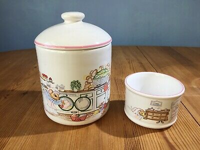 Wade: House Mouse Storage Jar & Sugar Bowl Designed Exclusively For Boots New • 6.70£