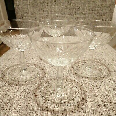 Antique Crystal Glasses X7 • 14£
