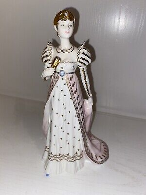"""Coalport """"EMPRESS JOSEPHINE"""" Femmes Fatales LIMITED EDITION No 894 Out Of 12500 • 75£"""
