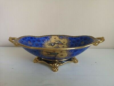 Art Deco Carlton Ware  Swallow And Cloud  Footed, Twin Handled Bowl • 75£