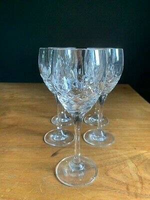 Crystal Red Wine Glasses - Qty 5 • 10£