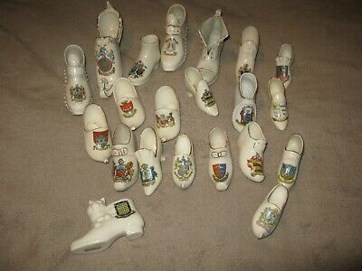 Crested Ware Shoes / Boots X 21 • 22£