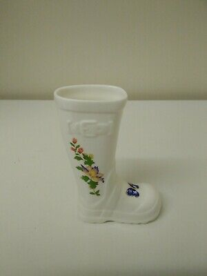 Aynsley China Cottage Garden Wellington Welly Boot Right 13.5 Cm High  • 6.50£