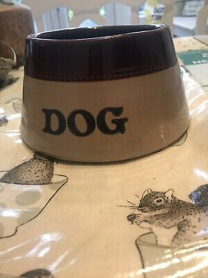 Dog Bowl Pearsons Of Chesterfield Vintage  • 20£