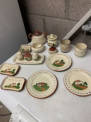 Collection Of Torquay Devon Pottery Some With Danage  • 25£