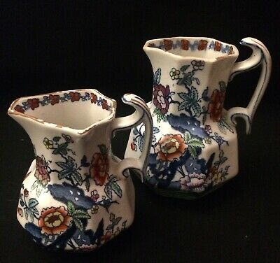 "A Pair Of Booths ""Pompadour"" Jugs • 7.99£"