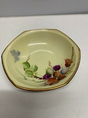 Continental Hand Painted Bowl 14 Cm Diameter • 5£