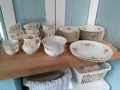 Aynsley Fine Bone China Tea Set ++ - Preowned - Antique/Vintage - 38 Pieces • 42.50£
