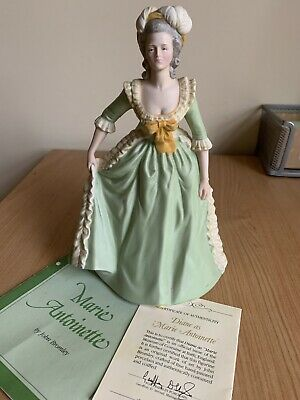 Franklin Porcelain Marie Antoinette Limited Edition Figurine With Certificate • 7£