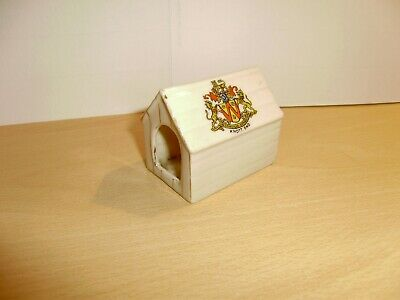 Crested China Dog Kennel.Savoy China.Knott End Crest.RARE Excellent Cond. • 14.95£