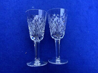 Waterford Alana Crystal Sherry Glasses • 12£