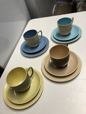 Vintage Set Of Four Branksome Trios  • 25£