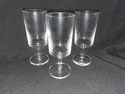 Wedgwood Crystal Port/Sherry Glasses X3  • 10£