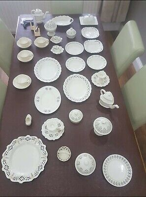 Royal Creamware Occassion 48 Piece Private Collection Bundle Fine China 1760 Set • 250£