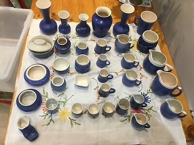Collectors Devon / Cornwall Blue Pottery - Job Lot Collection • 120£