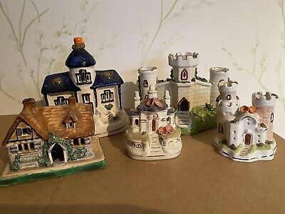 Collection Of Ceramic Staffordshire House Figurines • 10.90£