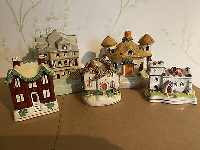 Collection Of Ceramic Staffordshire House Figurines • 9.80£