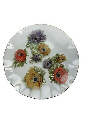 Vintage Chance Glass Fluted Plate • 5£
