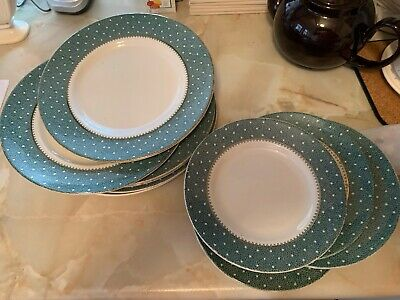 Six Dinner Plates And Four Side Plates - Ridgeway - Conway • 30£