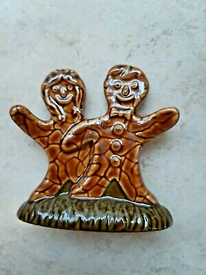 Wade Whimsies Gingerbread Man Boy And Girl 1996 • 18.95£
