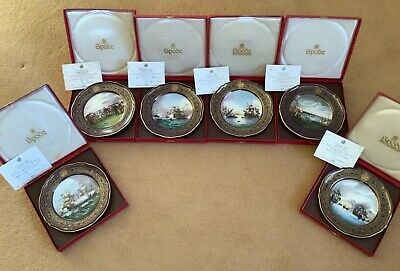 Spode ARMADA - The Complete Boxed Set Of 6 Limited Edition Certificated Plates • 85£