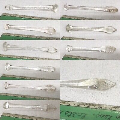 Antique Victorian & Georgian Handmade Glass Sugar Crushers. Sold Individually  • 10£