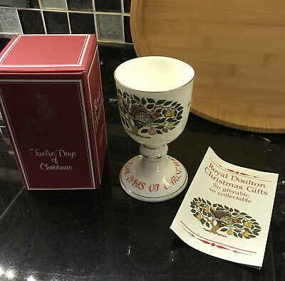 Royal Doulton Ltd. Edition - 12 DAYS Of CHRISTMAS Goblet (1st Day)! • 9.99£