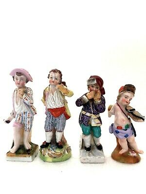Selection Of Four Dresden - Sitzendorf And Meissen Style Figures - Quality Model • 9.99£