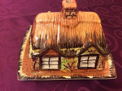 Vintage Price Bros Cottage Ware Butter Dish, In Good Condition • 4.60£