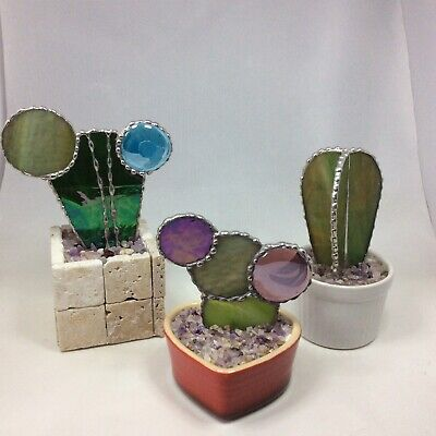 Stained Glass Cactus Collection • 30£
